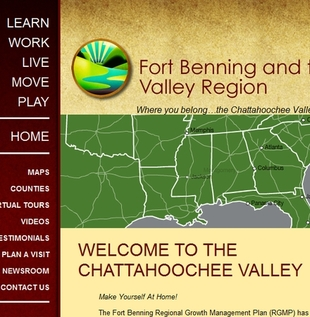 Ft. Benning and the Valley web site